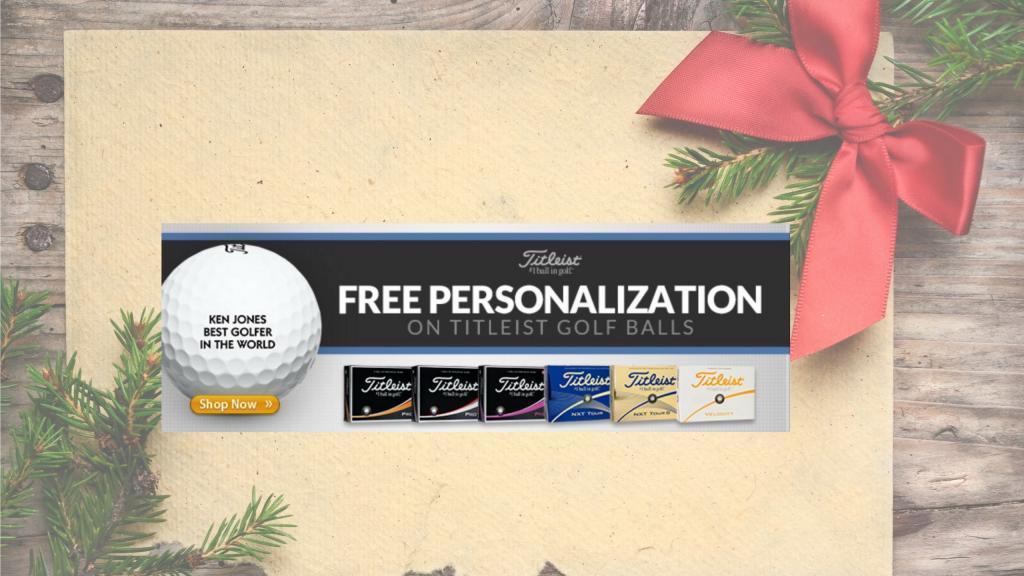Titleist Personalization